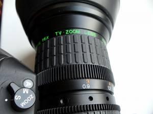 Fujinon A16 x 9 BEVM - 18 TV lens
