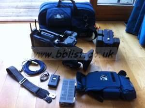 DSR-570 & lens