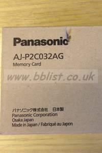 AJ-P2C032AG panasonic P2 memory card brand new