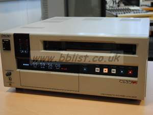 Sony UVW1800P Beta SP Recorder/Player