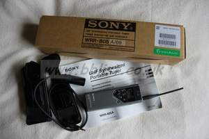 Sony WRR-805 radio mic tuner / receiver