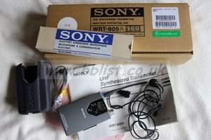 Sony WRT-805A 169 UHF Synthesised Transmitter