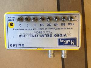 Matthey DN360 video delay line