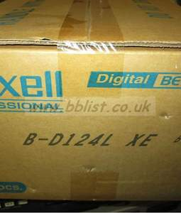 NEW Maxell Digibeta B-D124L