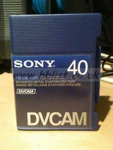 20x NEW Sony PDV40N Tapes