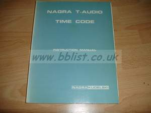 Nagra T operation manual