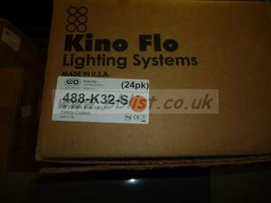 KinoFlo 488-K32-S (488K32S) 4ft Kino 800ma KF32 Safety-Coate