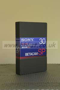 Sony Beta SP 30 Minute Video Cassettes. BCT-30MA. New Unused