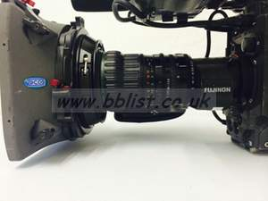Fujinon zoom lens with Vocas Matte Box