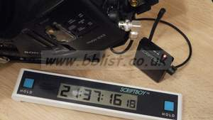 VORTEX Scriptboy / Wireless Timecode Display Logging System