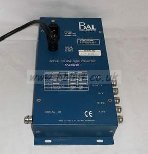 BAL sac012B SDI to component / RGB / composite converter wit