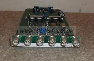 Crystal vision 2 channel SDI DA. DDAA246 Card and connector