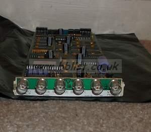 Crystal vision ARC-102 SDI aspect Ratio Converter Card and c