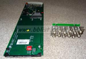 Snell & Wilcox IQ modular rackw ith dual PSU, rollcall and 8