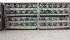 Crystal vision FR2AV frame with dual PSU and 12x DDAA132 SDI
