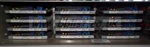 Crystal vision 2RU rack with 11x ADC102F YUV to SDI converte