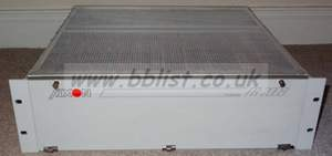 Axon FR2009 rack with 8x FLS200 SDI frame synchronisers and