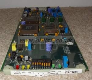 Crystal vision DAC102N SDI to YUV/RGB converter card (pal an