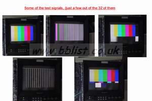 Leitch VTG-6801 SDI test signal picture generators (32 diffe