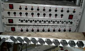 1RU rack mounted 10 way power distributions