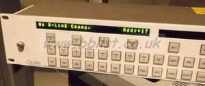 Quartz 2U evertz CP-3208 32 source, 8 destination router mat