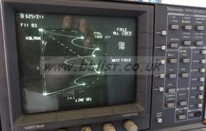 Tektronix WFM601M measurement SDI video waveform / vector