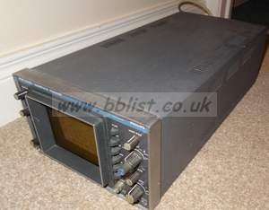 Philips PM5565 2 channel composite waveform scope wiht case,