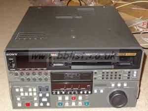 Sony DVW-500P Pal format digi beta recorder. Working order (