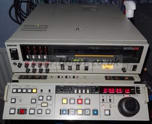 Sony pal bvw-D75PS betacam SP recorder with SDI in and out,
