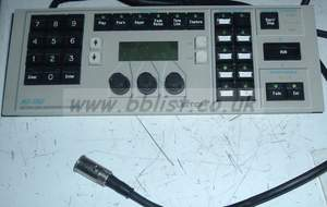 LEITCH MGI-1302 control panel