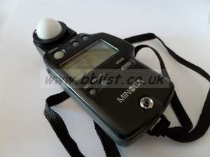 Minolta Digital light meter