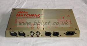 Alice MatchPak Interface Unit