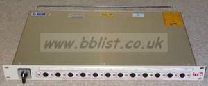 IPK 1RU 2x input powercon MDU with 20amp 12 output iec ratin