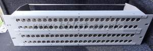 96port video patch panel (musa front, bnc rear).