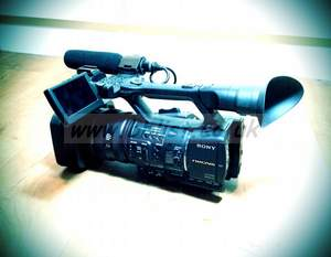 Sony NXCAM HXR-NX5E Professional HD Camcorder