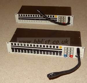 Telex 16 button ikp-950 2U talkback intercom panel