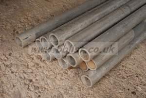 """Aluminium tube 1 1/4"""" O/D x 10swg x 4800mm"""