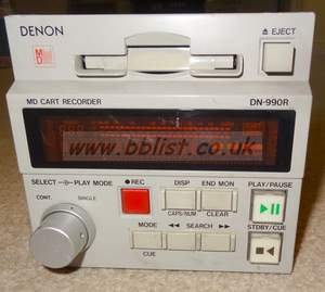 Denon DN-990R mini disc recorder