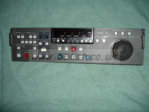 Sony BKDW-514 Digibeta control panel