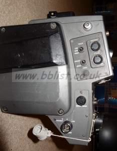 Sony CA-550P triax lemo camera back. (Genlock input option)
