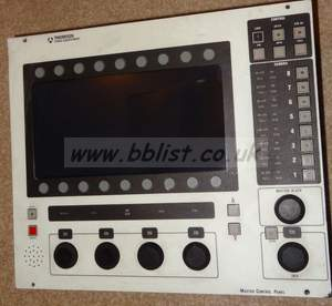 Thomson master setup unit control panel