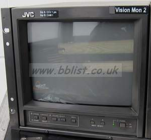 "JVC TM-A101G 10"" Broadcast monitor"
