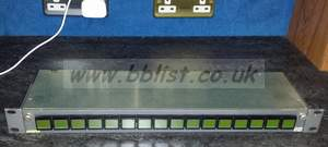 Evertz CP-1000A XY panel router matrix panel
