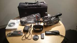 Canon XF 305 and accesories