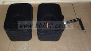2x JBL control monitoring speakers