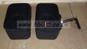2x JBL control monitoring speakers