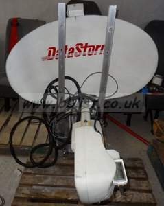 1m Directpc Datastorm satellite dish and LNB, (for internet