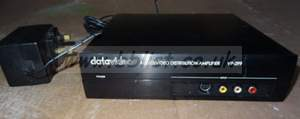 Datavideo VP-299 1in, 4 out audio / video distributor , for
