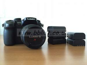 Panasonic GH3 DSLR with 12-35mm lens
