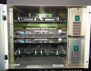 Quartz 66x64 SDI video router in 8RU frame (software 5.02) w